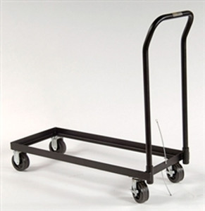 Justrite Rolling Cart for 30 gal, 12 & 17 gal Piggyback Safety Cabinets