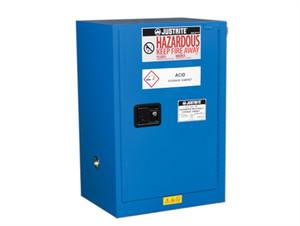 Justrite ChemCor Compac HazMat Safety Cabinet, 12 Gal, Self-Close