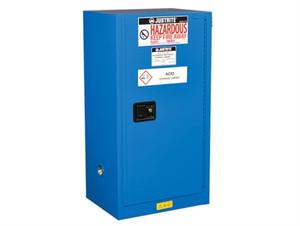 Justrite EX Compac HazMat Safety Cabinet, 15 Gal, Self-close Door
