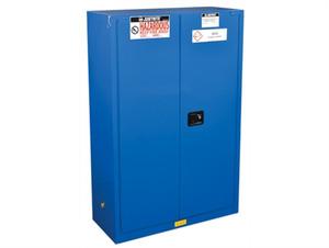 Justrite HazMat Safety Cabinet, 2 Door Self Closing, 45 Gal
