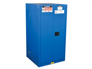 Justrite ChemCor HazMat Safety Cabinet, Cap. 60 gal, self-close