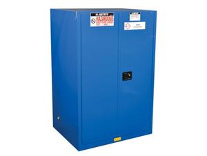 Justrite HazMat Safety Cabinet, 2 Door Self Closing, 90 Gal