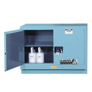 Justrite Acid Fume Hood Cabinet, 31 gal, Manual