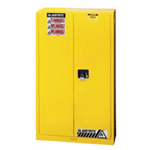 Justrite 894520 Flammable Safety Cabinet, 45 gallon, self-closing