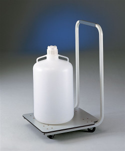 Labconco 8000300 Lab Cart, Carboy Caddy Mobile Cart for Heavy Containers