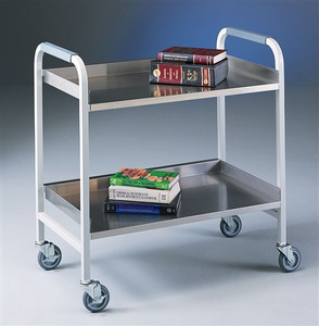 Labconco 8019000 Lab Cart, Stainless Steel Cart