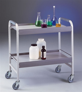 Labconco 8020000 Lab Cart, Chemical Cart, Epoxy-coated Steel