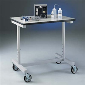 Labconco 8075000 Lab Cart, Variable Height Mobile Lab Bench / Cart