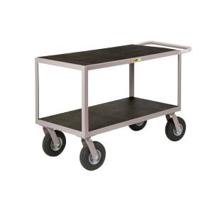 Flat-Handle Instrument Cart, Non-Slip, 24 x 36