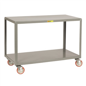 "Little Giant IP-2460-2 Mobile Work Tables, Rugged Steel, 24"" x 60"""