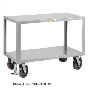 Little Giant Industrial Strength Mobile Work Table, Locking, 24 x 36
