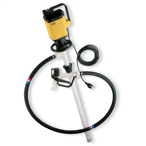 Lutz LP-0205-201-1 Drum Pump Set for Very Corrosive Chemicals, Electric, 39""