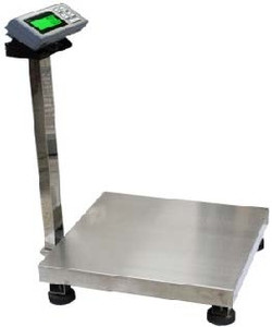 Large Bench Scale, Accurate to 500 Lbs, 0.1 lb Resolution, LCD Screen