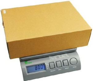Small Postal Scale, Accurate to 75 Lbs - 0.5oz Accuracy