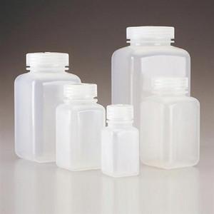 Nalgene 2110-0032 Square Bottle, Wide-Mouth, PPCO, 32oz (1L), case/24