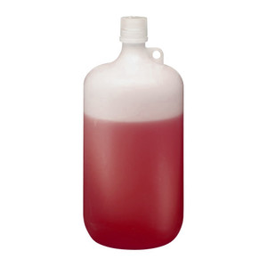 Nalgene LDPE Bottle, 4 Liter Narrow-Mouth 38-430 closure, case/6