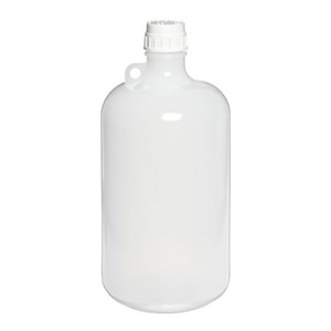 Nalgene 2202-0020 LDPE Bottle, 8 Liter Narrow-Mouth 53B with PP closure, case/6