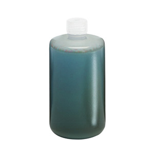 Nalgene 2203-0005 Autoclavable Bottle, 2 Liter Narrow-Mouth PP, case/6
