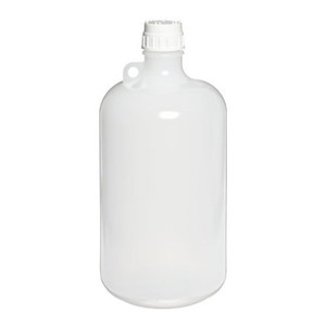 Nalgene 2203-0010 Autoclavable Bottle, 4 Liter Narrow-Mouth PP, case/6