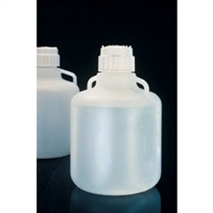 Nalgene 2210-0020 Carboy with Handles, 83B 10 Liter LDPE, Labware, case/6