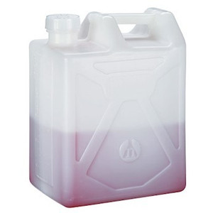 Nalgene Rectangular Carboy, Heavy Duty Container, 20 Liter, case/4