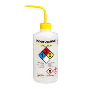 Nalgene Labeled Wash Bottle, 500mL, Isopropanol, case/24