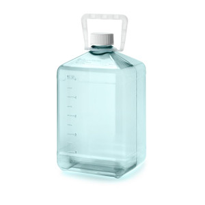 Nalgene 5L Sterile Biotainer PC Carboy with handle, Lab-pack, case/6