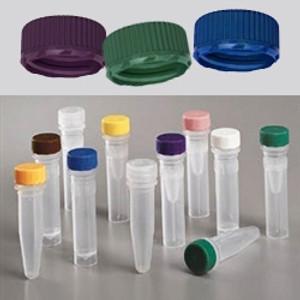 Nalgene 11mm Low Profile Caps for Micro Vials, Non-Sterile, case/1000