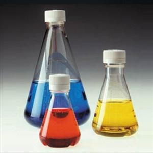 Nalgene 125mL, Sterile Disposable Flask, Vented Closure, case/24