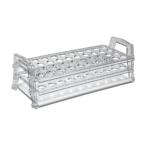 Nalgene 5929-0016 Test Tube Rack, Polycarbonate, 16mm, case/4