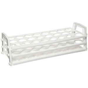 Nalgene 5930-0030 Test Tube Rack, Polypropylene, 21-25mm, case/4