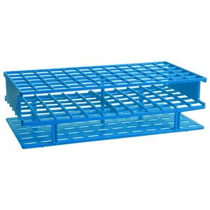 Nalgene Test Tube Rack, Autoclavable, Blue, 16mm tubes, case/8