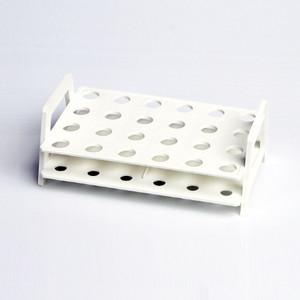 Nalgene Microtube Rack, White, Holds 24 x 1.5mL, tubes, case/8