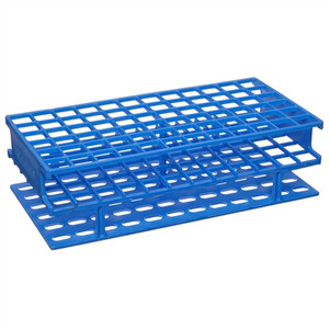 Nalgene 5976-0313 Test Tube Rack, Unwire, Blue, PP 13mm, case/8