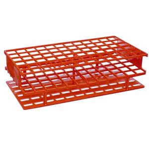Nalgene 5976-0513 Test Tube Rack, Unwire, Red, PP 13mm, case/8