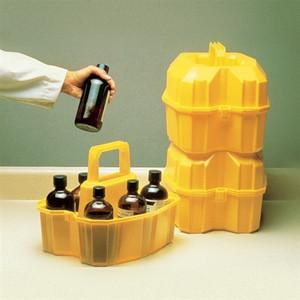 Nalgene Solvent Bottle Carrier for six 500mL Bottle, case/6