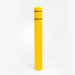 "Bollard Post Sleeve, Square 4.5"" x 55"", UV Fade Resistant Colors"