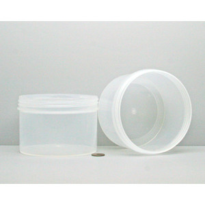 Bulk 24oz 120mm Polypropylene Jars, 650mL (no caps), case/120