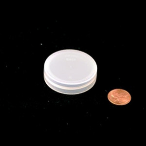 43mm (43-400) Natural PP Pressure Sensitive Lined Smooth Cap
