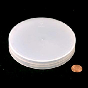 100mm (100-400) Natural Polypropylene Heat Seal Lined Smooth Cap