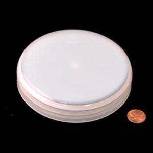 120mm (120-400) Natural Polypropylene Foam Lined Dome Cap