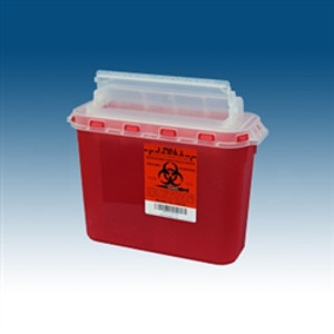 Sharps Container, 5.4 Qt for use BD Wall Cabinets, case/20