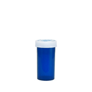Economy Rx Blue Vials, Child-Resistant, Blue, 13 dram (45cc), case/320