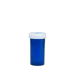 Economy Rx Blue Vials, Child-Resistant, Blue, 13 dram (45cc), case/320