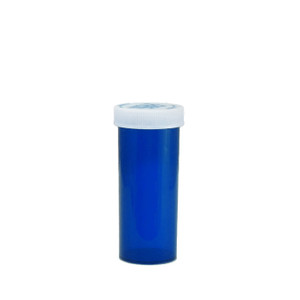 Economy Rx Blue Vials, Child-Resistant, Blue, 16 dram (60cc) case/270