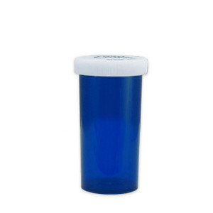 Economy Rx Blue Vials, Child-Resistant, Blue, 40 dram (150mL), case/180