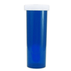 Economy Rx Blue Vials, Child-Resistant, Blue, 60 dram (175mL), case/115