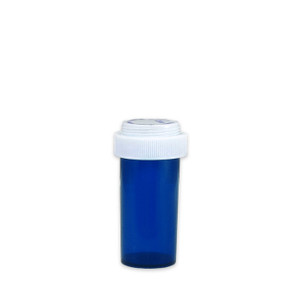 Economy Rx Blue Vials, Child Resistant, Reversible, 13 dram (45mL), case/275