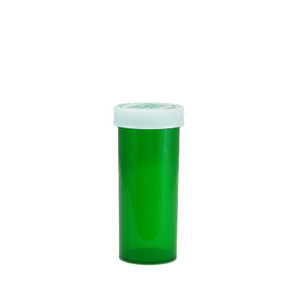 Economy Rx Green Vials, Child-Resistant, Green, 16 dram (60cc) case/270