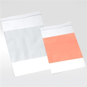 "Plastic Zip Bag, 4 x 6"" LDPE, 2 MIL, Orange Write-On Label, case/1000"